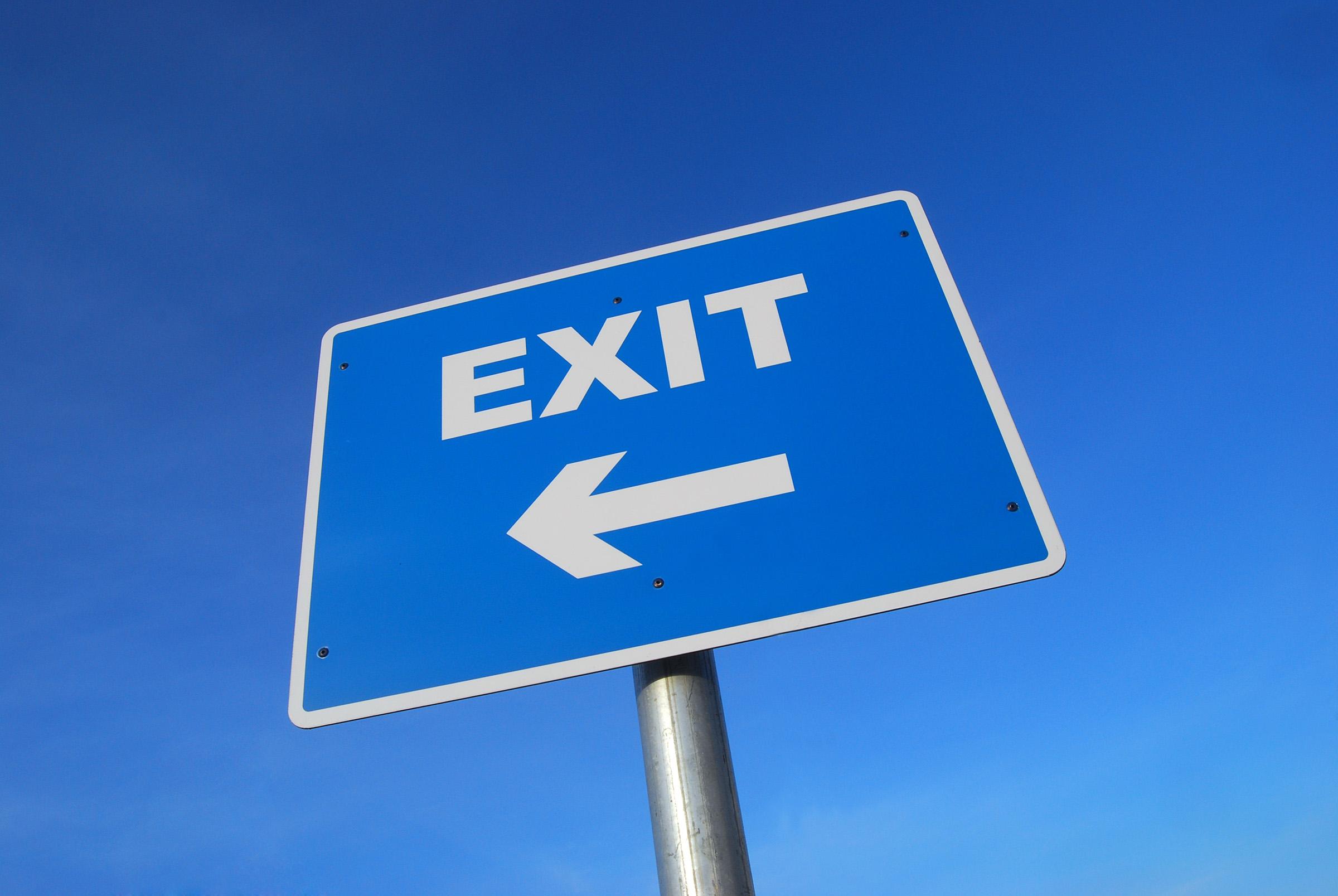 Exit planning