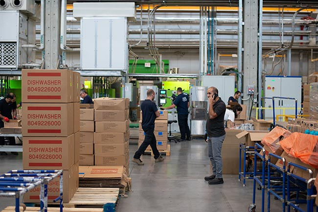 photo of manufacturing warehouse