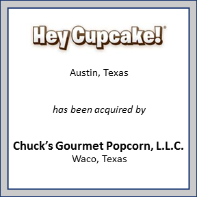Tombstone for Hey Cupcake!